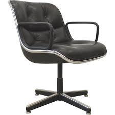 chaise de bureau knoll paire de chaises de bureau charles pollock de knoll international