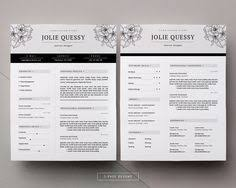 girly feminine resume template on word free resume templates created by professionals who know what