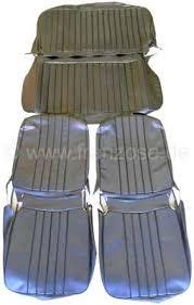 renault siege jeu de housses de siège renault 4l jusque 1980 en skai noir kit