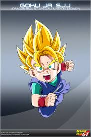 dragon ball gt goku jr ssj dbcproject deviantart
