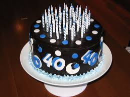 40th Bday Decorations 40th Birthday Cake Ideas Her Image Inspiration Of Cake And