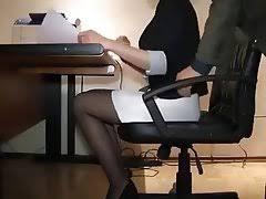 Under Desk Cam by Secretary Spy Voyeur Best Spy Tube Voyeur Videos