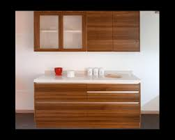 chelsea natural walnut blockboard and white quartz kitchen area