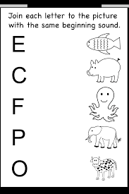 beginning sound 7 worksheets preschool worksheets pinterest