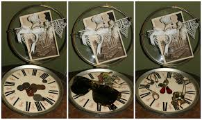 diy steampunk home decor clock face catch all bohemianromance