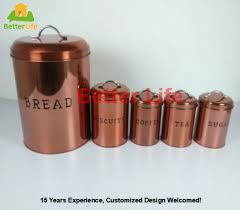 copper kitchen canister sets china canister sets copper wholesale alibaba