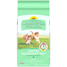 natural canned and dry mix food for puppies