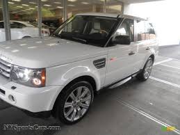 land rover supercharged white 2008 land rover range rover sport supercharged in alaska white
