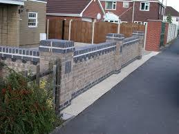 decorative brickwork and walling