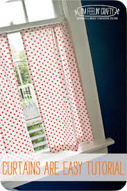 How To Make Basic Curtains Curtain Tutorial U2013
