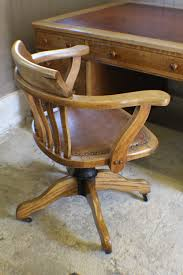 vintage oak u0026 1930s adjustable desk office chair antiques atlas