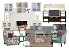 brittany yorks living room is always the perfect mix of rustic