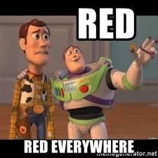 Meme Generator Everywhere - red red everywhere buzz lightyear meme fixd meme generator