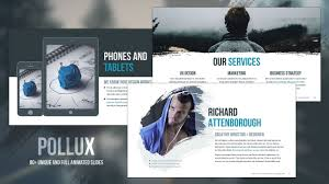 pollux free powerpoint template youtube