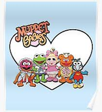 muppet babies posters redbubble