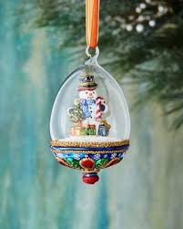 find the best deals on huras snowman in globe ornament