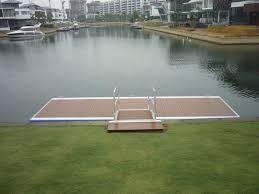 composite dock decking plastic wooden permatimber
