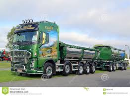 volvo latest truck green volvo fh16 750 show truck editorial stock image image