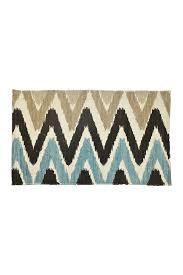 design imports taupe light blue chindi rug nordstrom rack