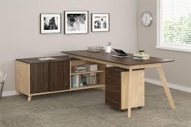 L Shaped Desk Modern Bronx Barbosa Modern Executive 2 L Shape Desk Office