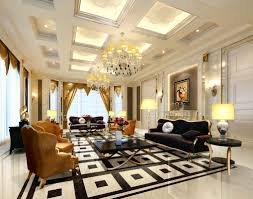 European Interior Design Living Room Living Room Ceiling And Floor Interior Design