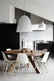 furniture amazing modern dining room porada infinity round
