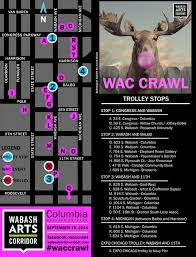 Chicago Trolley Tour Map by Wabash Arts Corridor Crawl Will Bring Culture To The Streets