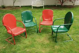 Retro Patio Furniture For Sale by Vintage Metal Patio Chairs For Sale Style Pixelmari Com
