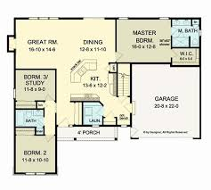 open concept ranch floor plans ranch house plans with open concept lovely 3 bedroom 2 bath french