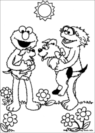 sesame street gang coloring pages sesame street coloring pages