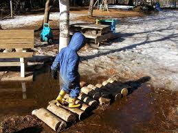 Natural Playground Ideas Backyard Watching 2 Natural Playgrounds Part Iii Wowkits Weblog