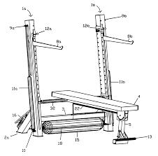 patent us6746379 self spotting safety bench press google patents