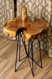 rustic wood side table cheap wooden side tables impressive round wood accent table rustic