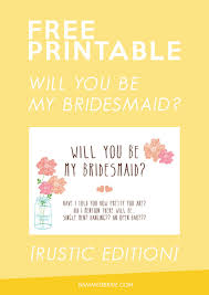 be my bridesmaid invitations 20 free will you be my bridesmaid cards weddings wine
