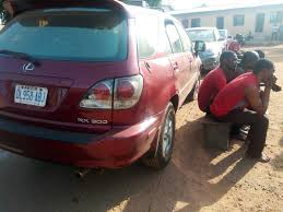 jeep lexus see the lexus jeep recovered from car snatching syndicate in benue