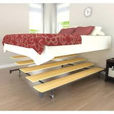 Low To The Ground Bed Frame Extraordinary Metal Modern Bed Frame Bedroom Low To Ground