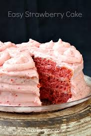 check out easy strawberry cake it u0027s so easy to make easy