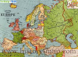 Old Europe Map by Europe Map 1940