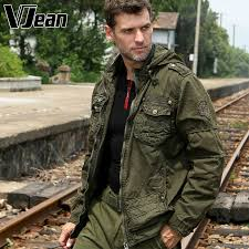 Rugged Outdoor V Jean S Rugged Tactical Jacket Hooded With Pockets 6b112 In