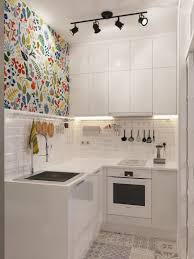 designing a small kitchen beige tile backsplash stainless steel