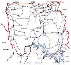 Map Of Ghana Interpreting Ceramics Issue 10