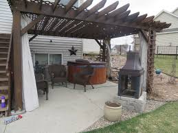 Backyard Living Room Ideas by Living Room Pergola Structural Design Iron New Home Backyard