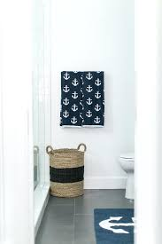 Nautical Bathroom Rugs Nautical Bathroom Rugs Blue With Anchor Bath Mat Cottage Ballers