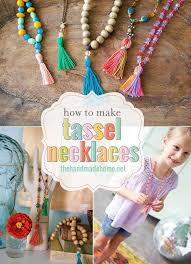 tassel necklace make images Make your own tassel necklace the handmade home jpg