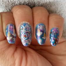 nail art night skyartnailsart nail art page 22 easy nail art bow