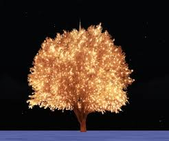 Outdoor Lighted Trees Second Marketplace Outdoor Lighted Tree I