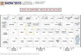 Suntec City Mall Floor Plan by Floor Plan Map Suntec Level 4 It Show 2010 Price List Brochure