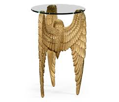 angels wing side table winged side table designer side table