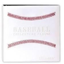 baseball photo album buy bcw premium collectors binder d ring album black