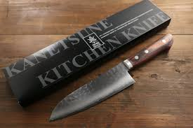 best japanese kitchen knives kanetsune vg13 layer hammered santoku japanese chef knife 165mm